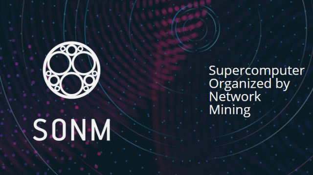 Recent SONM Status Announcement Can Bring The Project Into Higher Levels