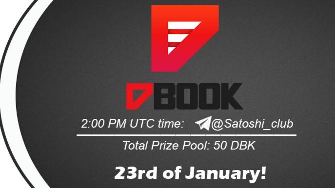 Dbook platform x Satoshi CLUB AMA Session 23 Jan 2021