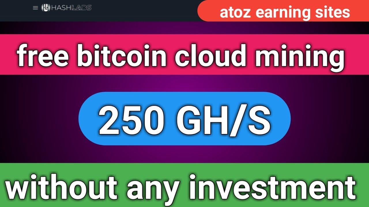 Superb new #BTC Mining Free= 250Gh/s sign up Bonus