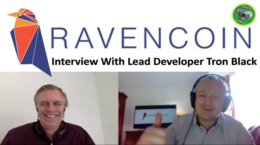 Ravencoin - Securities Digital Assets/Tokens 2019 - POW Mining For RVN - With Lead Dev Tron Black