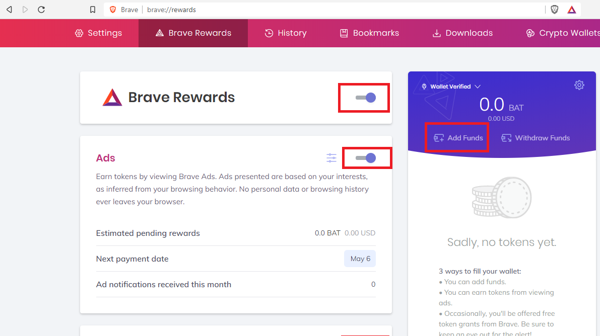 How to make money with the brave browser from A-Z