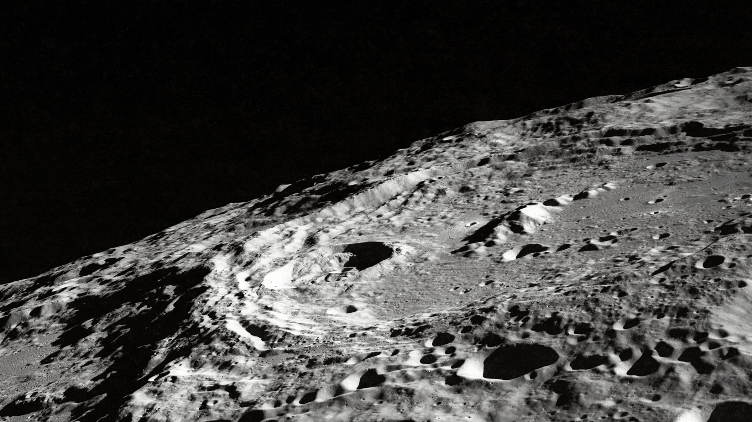 Moonscape image by NASA on Unsplash