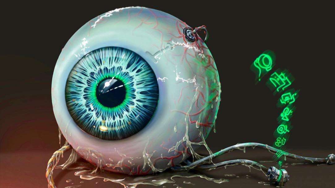 The Eye. ( Neon Corp)...