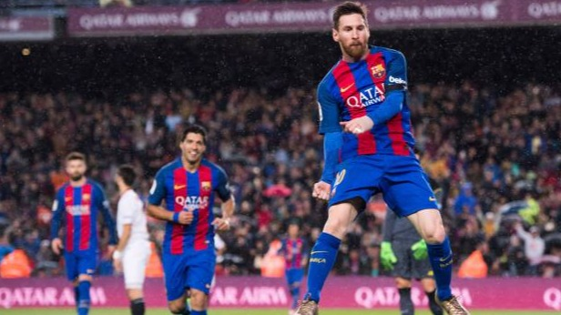 Barcelona defeated Eibar at the top of the points table.