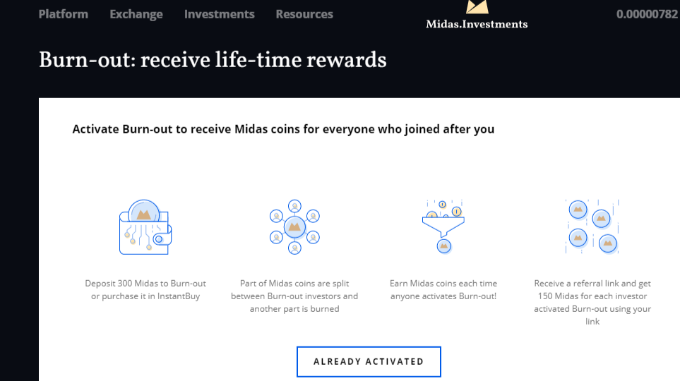 Receive a Lifetime Passive Income Stream of Crypto with Midas.Investments.