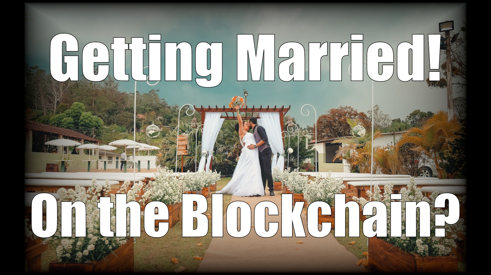 trevor balthrop getting married on the blockchain