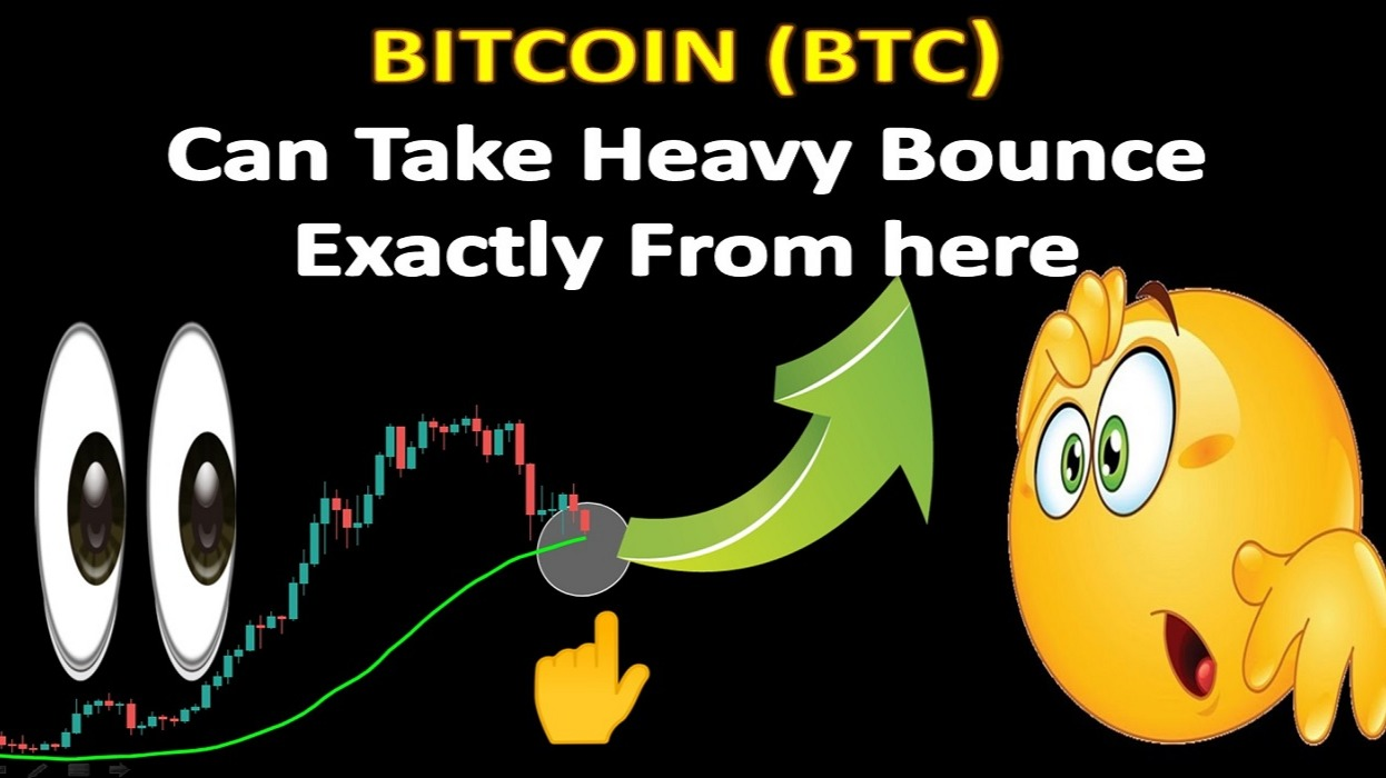 BITCOIN (BTC)  Can Take Heavy Bounce  Exactly From here