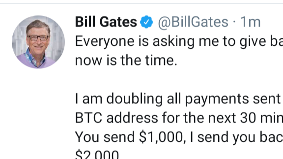 Twitter Hack and hacker asked for Bitcoin