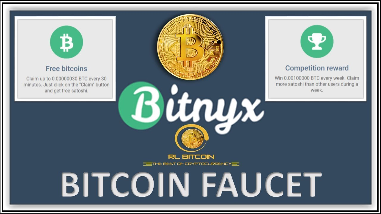 Bitcoin faucet every 30 minutes