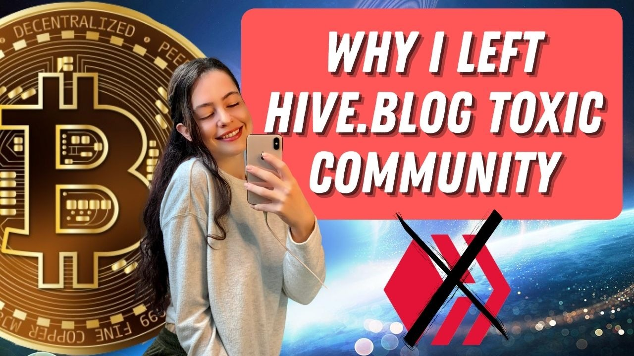 CryptoFinally Leaving Hive
