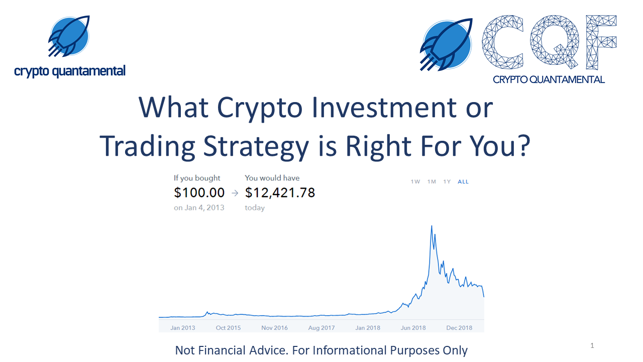 Which crypto strategy is RIGHT for YOU?