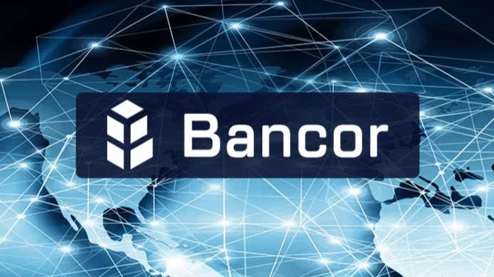 Bancor logo on a background