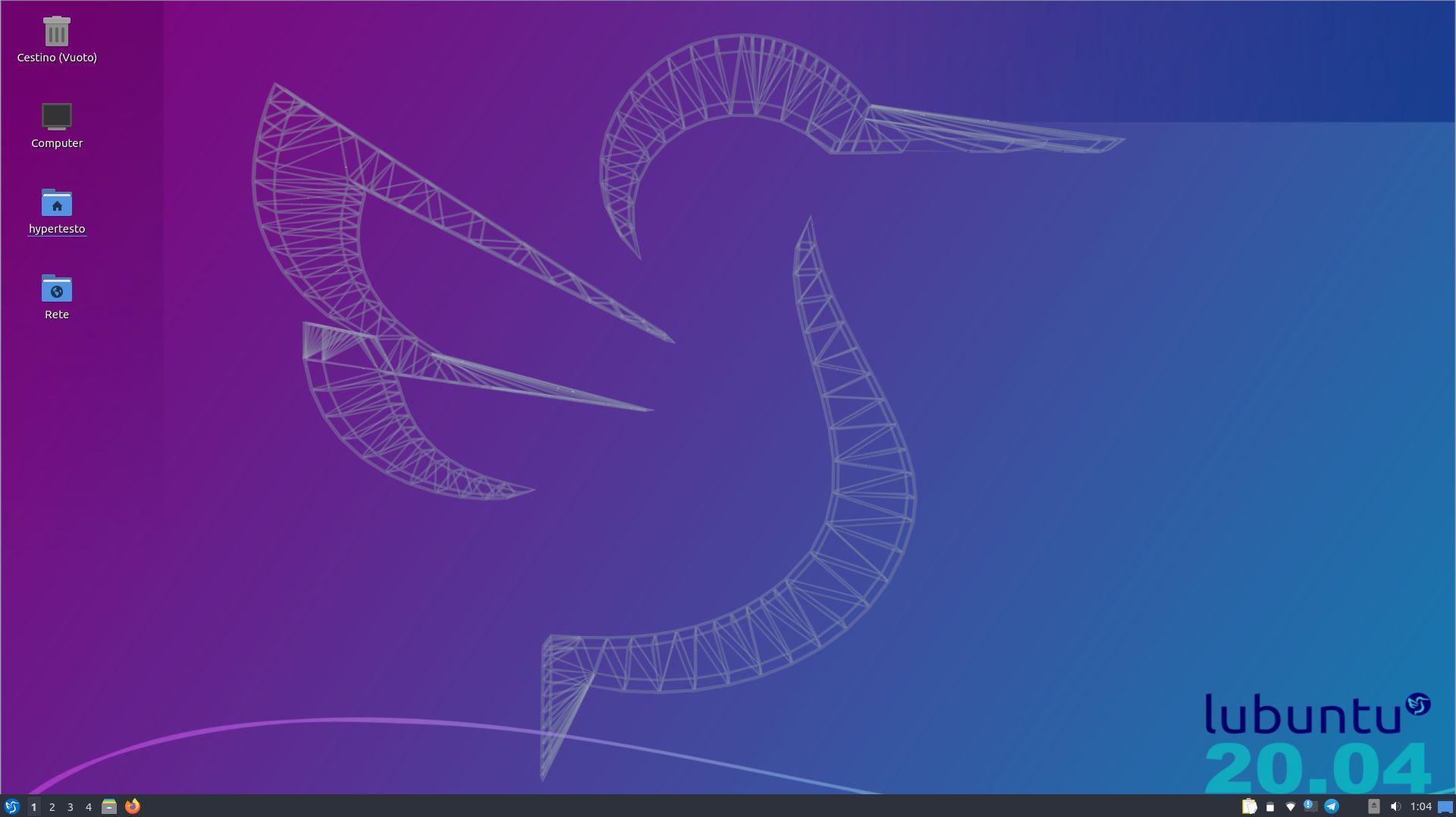 My Lubuntu desktop